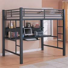 Twin Size Loft Bed With Desk by Bunk Beds Full Size Loft Bed With Stairs Twin Over Queen Bunk