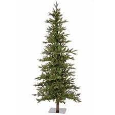 vickerman shawnee 6 green fir artificial tree with 250