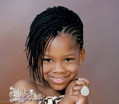 black braided hairstyles for kids