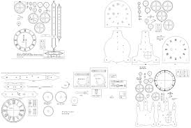 pdf plans clock wooden plans free download woodworking bench