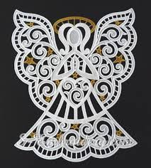 freestanding lace window ornament sku 10625
