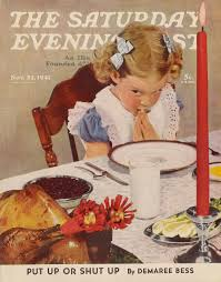 thanksgiving table prayer saturday evening post covers google search saturday evening