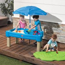 step 2 sand and water table step2 cascading cove sand water table walmart canada