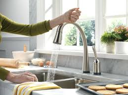 beautiful kitchen faucets sinks doubs deck mounted kitchen sink faucet with pull