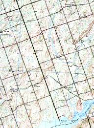 examples of topographic maps