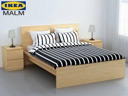 Malm Ikea Bed Frame Bed Malm Ikea Cgtrader