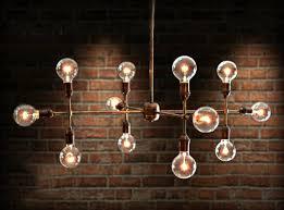 Chandelier Bulb Handmade Modern Contemporary Light Sculpture Light