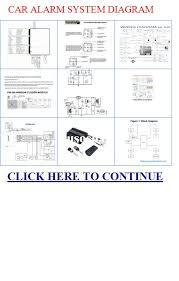 car alarm system diagram system diagram car alarm system