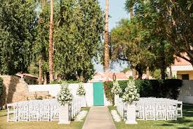 glam la quinta resort wedding mark lexy
