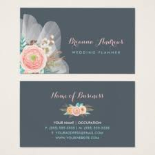 wedding planner business wedding planner business cards templates zazzle