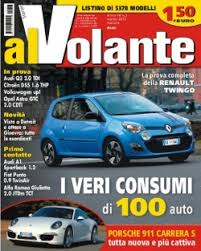 listino prezzi al volante riviste auto