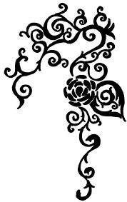 graphics for tribal vine clip art graphics www graphicsbuzz com