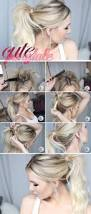 18 cute hairstyles that can be done in a few minutes easy