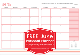 free printable planner 2016 australia june personal planner pages free printable