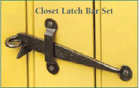 Closet Door Latches Historichousefitters