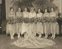 Gifts To Give The Bride From The Maid Of Honor Bridesmaid Wikipedia