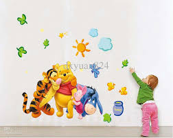 2016 new removable wall stickers my friends tigger and winnie the 2016 new removable wall stickers my friends tigger and winnie the pooh kids baby room mural decoration