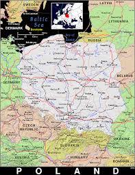 Map Poland Pl Poland Public Domain Maps By Pat The Free Open Source