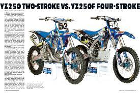 bicycle motocross action magazine yz250 two stroke vs yz250f four stroke u2013 mxa magazine jay clark