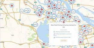 map new new map tracks environment issues in supply chain material