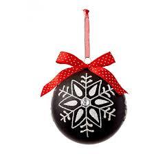 black chalkboard snowflake ornament target