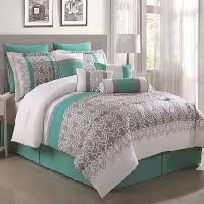 10 Pc Comforter Set S L Home Fashions Luna 10 Piece Comforter Set Walmart Com
