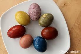 easter egg dye egg dye a rainbow of options radmegan
