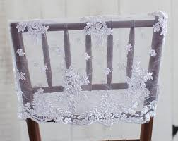 lace chair covers lace chair cover etsy