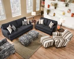 Denim Sectional Sofa Denim Living Room Set In Denim Furniture Living Rooms