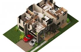 modern floor plan charming idea 7 modern floor plans 3d house 3d plan homeca