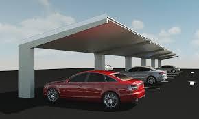 Car Port Designs by Commercial Solar Carport Bluetop Opti Carports Bluetop Solar