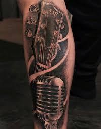 25 music tattoos for men men u0027s tattoo ideas best cool tattoos