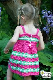 crochet baby dress pattern garden party dress u2022 simply collectible