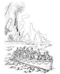 coloring pages of the titanic ginormasource kids huge kids playground of coloring pages
