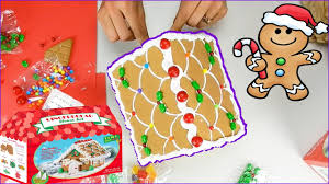 gingerbread house kit youtube