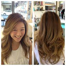 hair highlight for asian conservative brown summer balayage to dye for pinterest