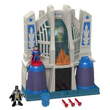 fisher price imaginext dc super friends hall of justice in stock
