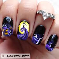 lacquered lawyer nail art blog october 2014 jack skellington