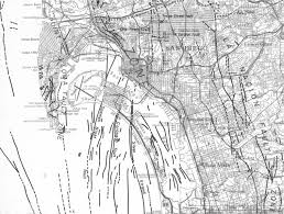 Map Of Downtown San Diego by Geology Of San Diego Bay And Region