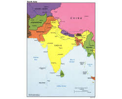 asia political map maps of south asia south asia maps collection of detailed maps