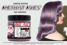 Different Shades Of Purple Names Hair Dye Colors Cool Hair Dye Ideas Cosmetics U0026 More Manic Panic