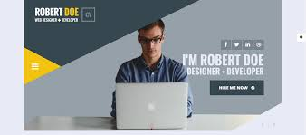 25 personal website templates for easy html websites