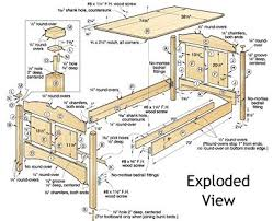 Plans For Wooden Bunk Beds by Build Your Own Bed Plans Wood Magazine