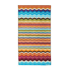 buy missoni home hugo beach towel bright multicoloured amara