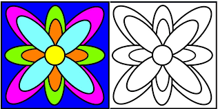 le coloriage première expression graphique de l u0027enfant le p u0027tit