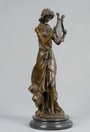11 best modern sculpture images on pinterest modern sculpture arts crafts copper modern antiques classical marble base bronze women with harp statue figurines sculpture for