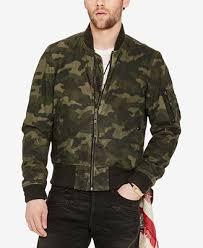 Denim And Supply Jacket Denim U0026 Supply Ralph Lauren Men U0027s Slim Fit Waxed Bomber Jacket