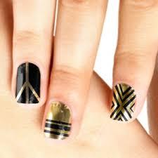 Nail Art Nail Polish Designs 21 Dazzling Nail Art Designs With Black Nail Polish