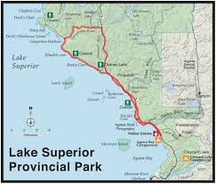 Map Of Lake Superior Lake Superior Coastal Trail Adventure Livelovegetoutside