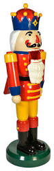 heavy duty fiberglass nutcracker figure traditional outdoor